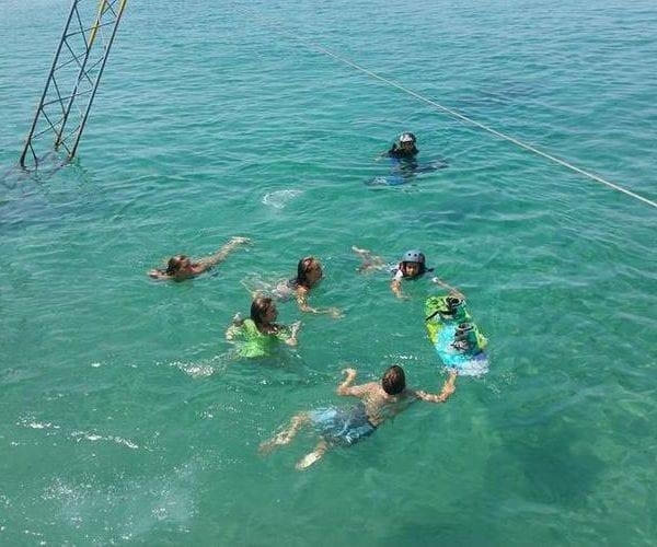 Wakeboarding privado para grupo en Benidorm, Costa Blanca