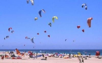 Kitesurf en Isla Canela by Hommter