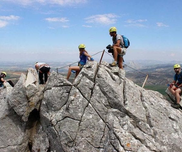 Via ferrata en Archidona - Málaga