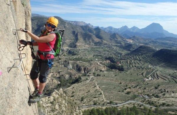 Vía ferrata Penya del Figueret Relle Alicante