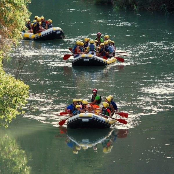 Rafting Cañón de Almadenes, Murcia, España