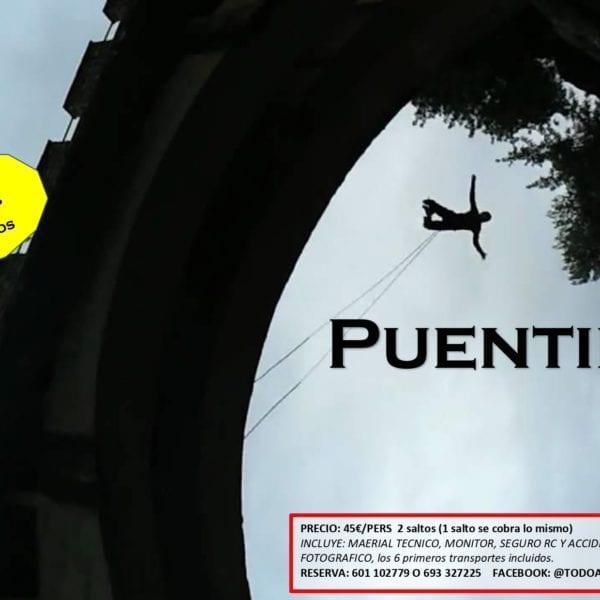 Puenting en Ronda (Málaga)