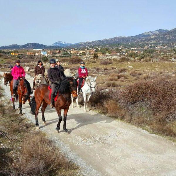 Rutas a caballo 1h El Boalo, Sierra de Madrid, España