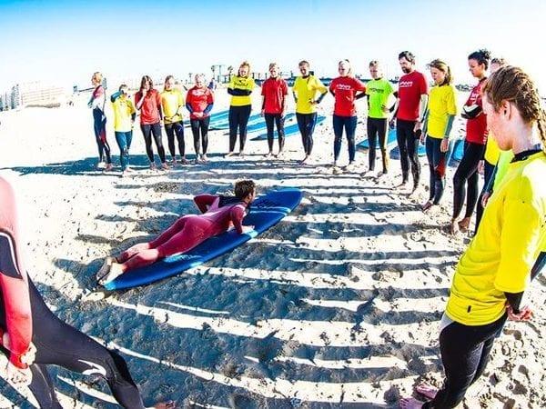 Curso de Surf en Cádiz, España
