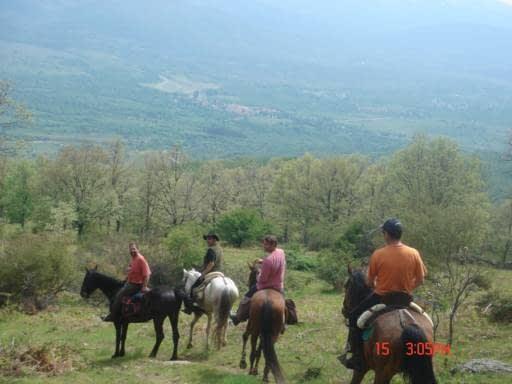 Rutas a caballo en Madrid 2 hora Caballos del Valle Hommter