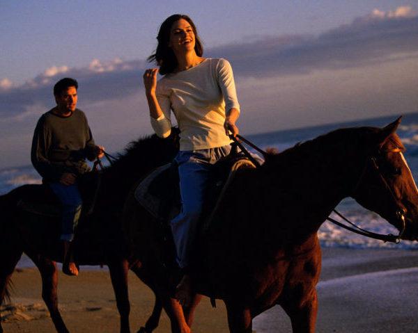 Ruta a caballo en pareja por Doñana, Sevilla, Villamanrique, España