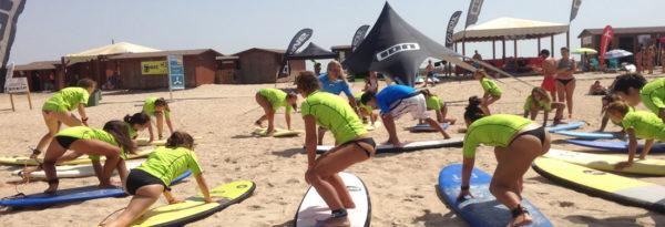 Cursos de Surf Camposoto (Cádiz)
