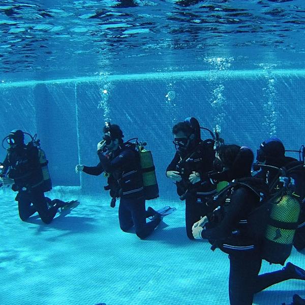 Curso buceo open water en Cádiz, España