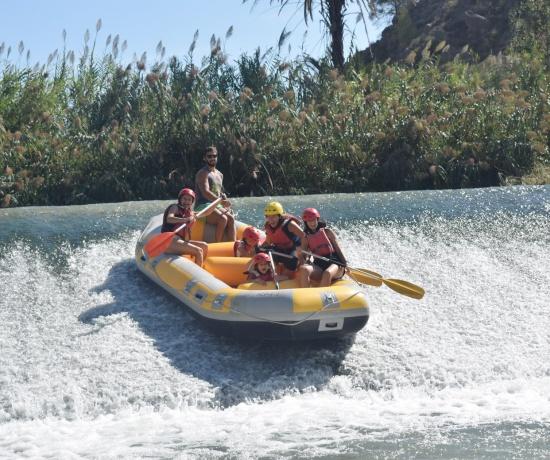 Rafting Murcia descenso en el Río Segura, España
