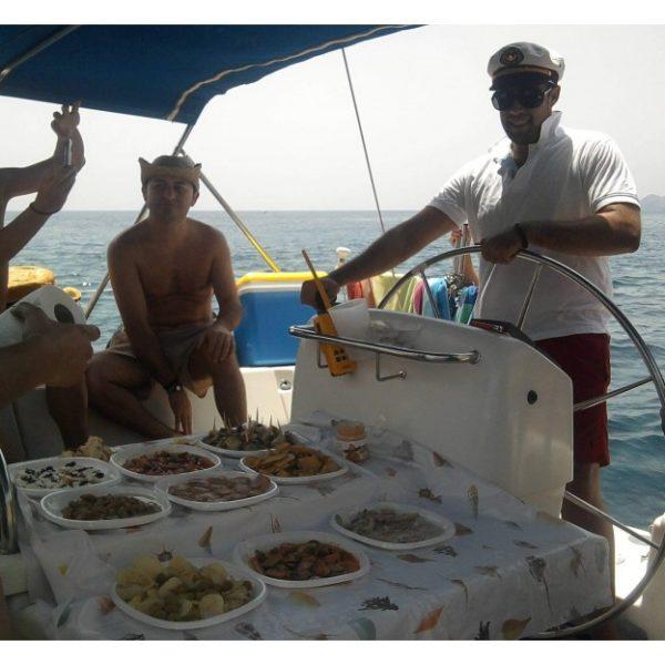 Fin de semana en barco en Águilas, Murcia, España