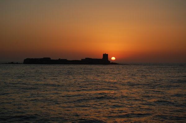 Excursión Puesta de Sol en Catamarán Costa de Cádiz, España