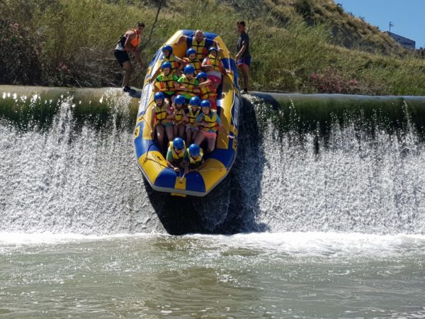 Rafting y merienda en Río Segura, Murcia, España