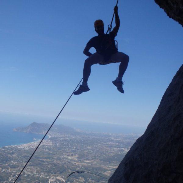 Escalada en Crestas de Alicante. Cresta de Bernia