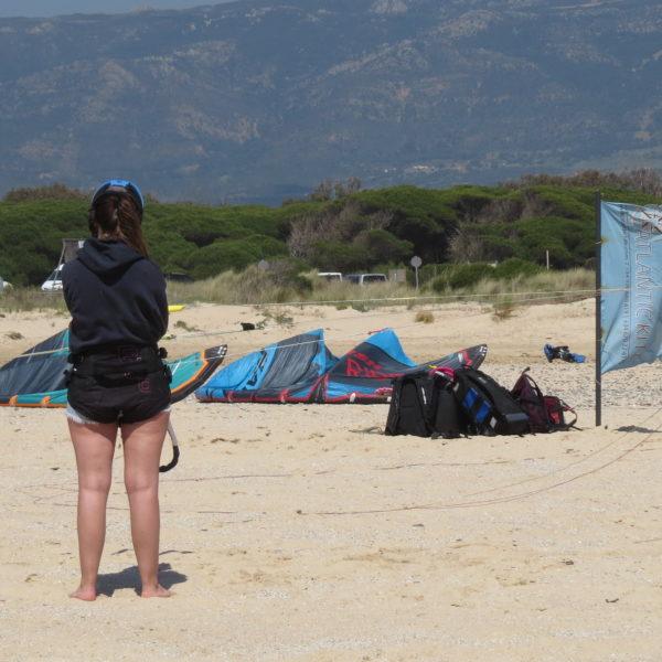 Curso kitesurf completo semiprivado en Tarifa, Cádiz, España