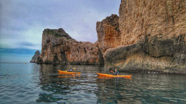 Eco kayak a las Islas Medas, Costa Brava, España