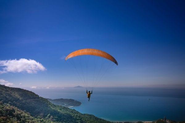 Vuelo en Parapente Biplaza en el sur de Tenerife, España