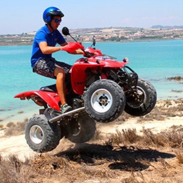 Excursión en Quad Embalse de la Pedrera en Orihuela, Alicante, España