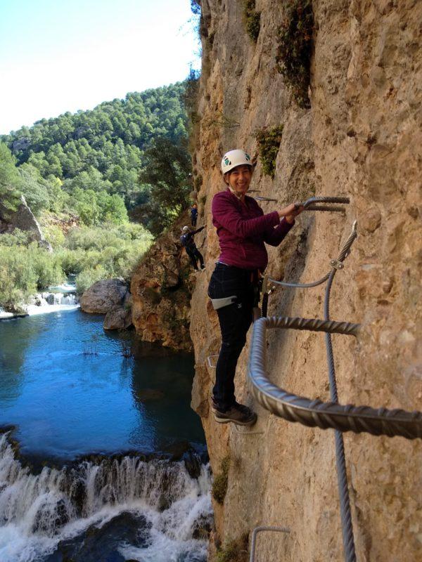 Via ferrata Ventano del diablo, Cuenca, España