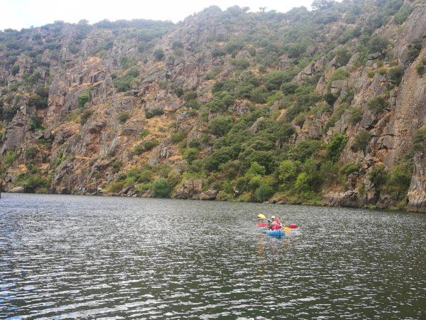 Ruta en piragüa Los Arribes del Duero, Zamora, España