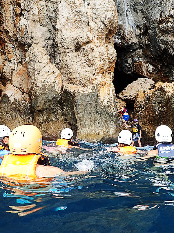 Ruta Kayak + visita Cueva dels Coloms, Alicante, Altea, España