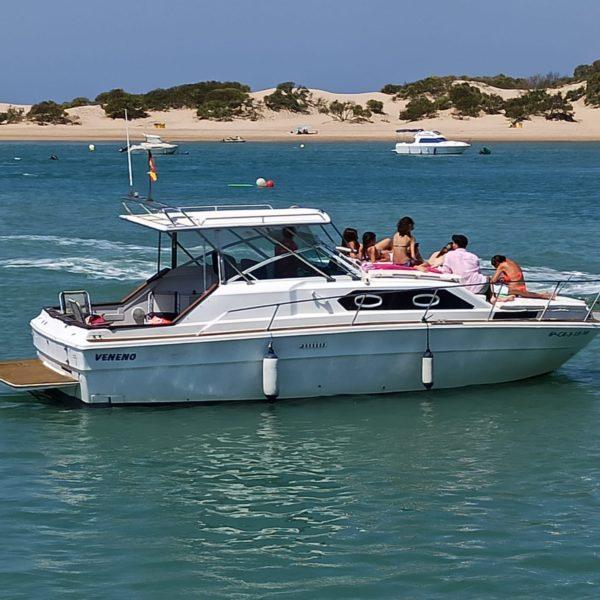 Alquiler privado Yate Sea Ray en Sancti Petri Chiclana, Cádiz, España