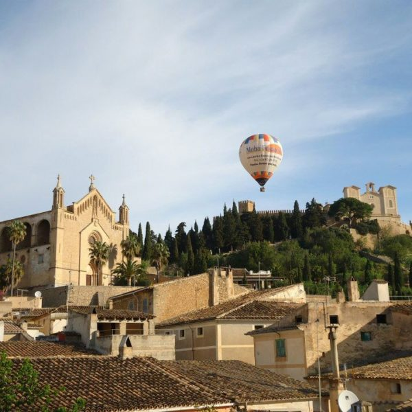 Vuelo en globo atardecer Mallorca, Islas Baleares, España