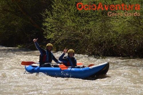 Canocraft/Kayak en el Río Genil Benamejí aguas bravas de 1 a 3 personas