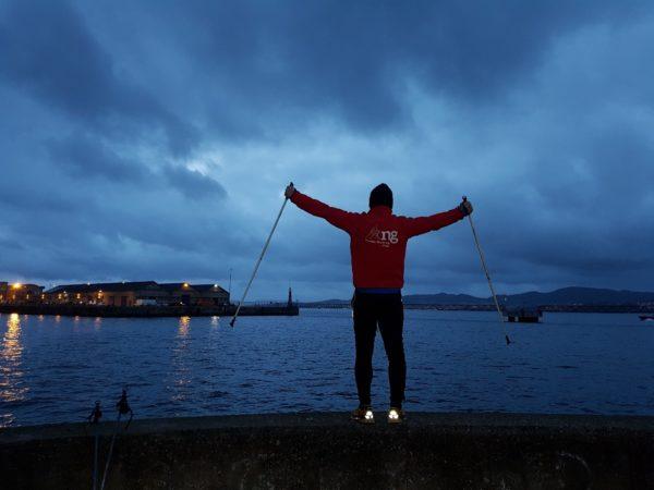 Curso de Iniciación al Nordic Walking o Marcha Nórdica en Vigo, Pontevedra, España