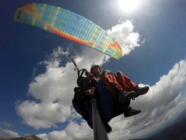 Parapente biplaza montaña en Huesca, España