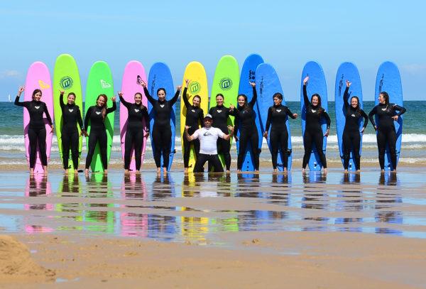 Curso de Surf 5 dias Playa de Somo, Cantabria, España