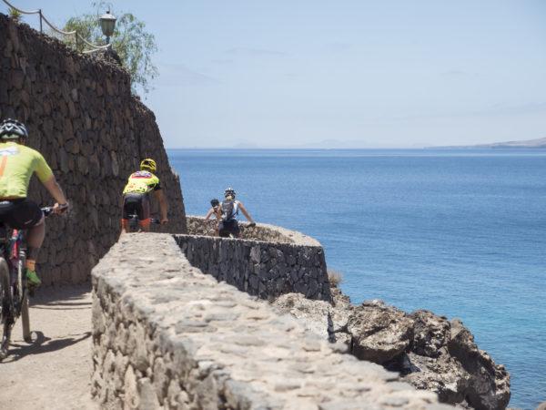 Tour E-Bike MTB eléctrica en Lanzarote, Las Palmas, España
