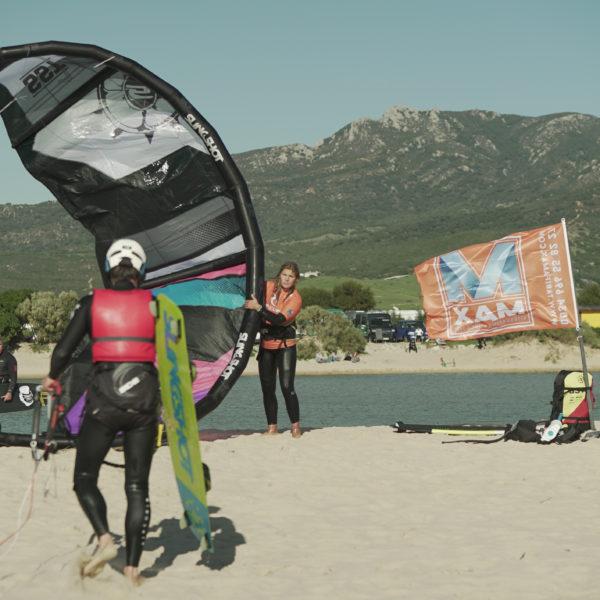 Curso semiprivado 2 días de iniciación al kitesurf en Tarifa, España
