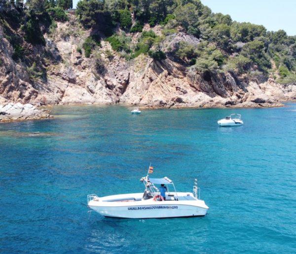 Excursión en barco 3h por la Costa Brava, Girona, España