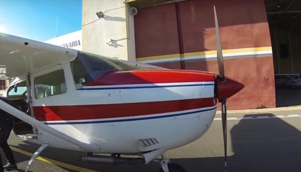 Salto en paracaídas en tandem en las Islas Canarias, España