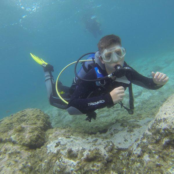 Bautismo de buceo y curso try scuba en Gran Canaria, España