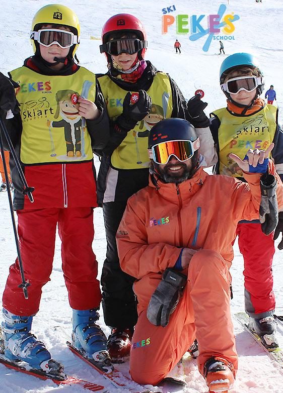 Clases esquí privadas Valle de Arán, Lérida, España.
