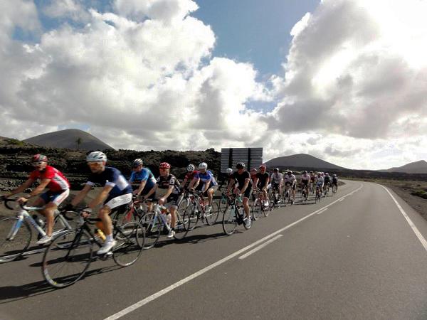 Tour de los Volcanes en bicicleta de carretera, Lanzarote, Las Palmas, España