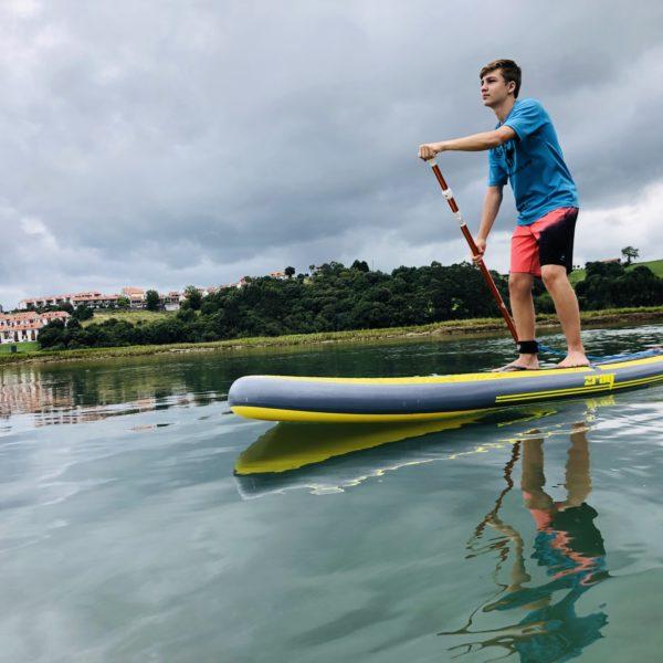 Clases de SUP/Paddlesurf de iniciación en San Vicente de la Barquera, Cantabria, España