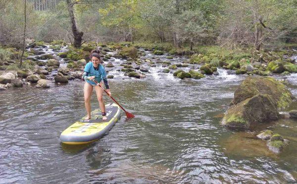 Travesía de SUP/Paddlesurf por río en San Vicente de la Barquera, Cantabria, España