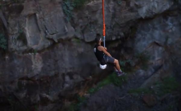 Rope Jump en Gran Canaria, España
