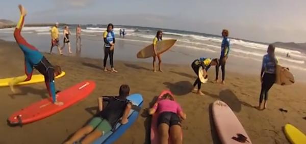 Clases de surf en Gran Canaria, España