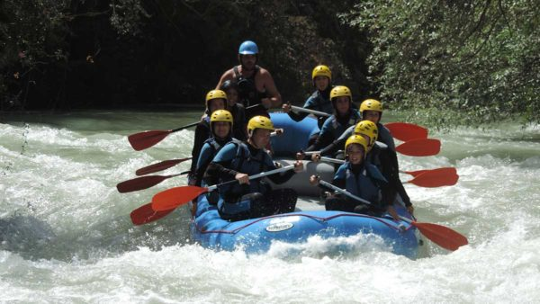 Rafting río Genil en Benamejí-Palenciana, Córdoba, España