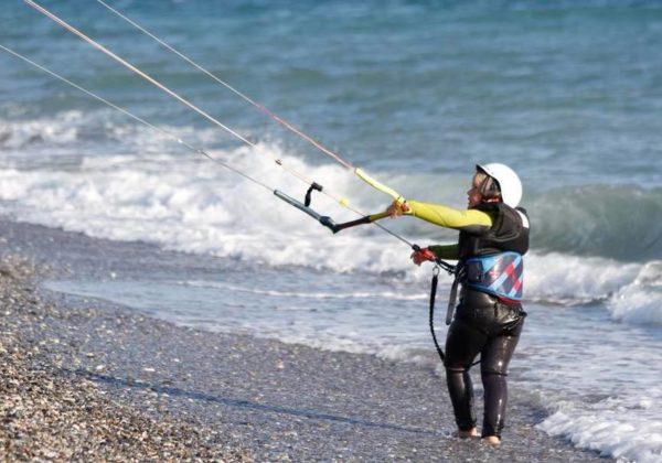 Curso principiante Kitesurf Almería, España