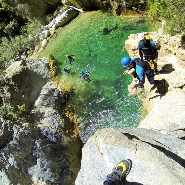 Rafting + Barranquismo en Río Verde en Granada, España
