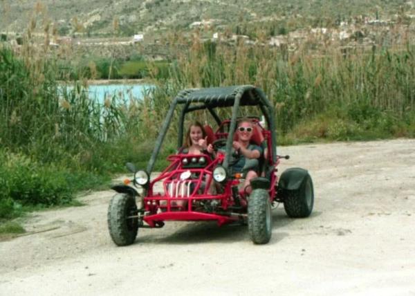 Ruta en buggy en Blanca, Murcia, España