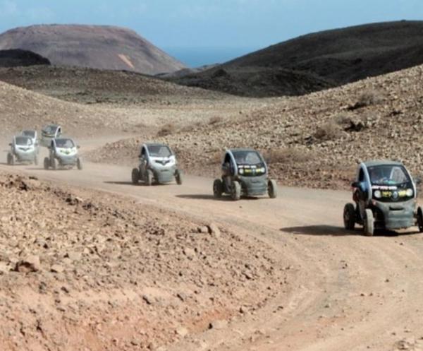 Eco buggy volcán y dunas en Las Palmas, España