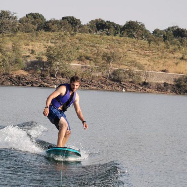 Wakeboard en Cáceres, España