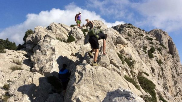 Escalada en Crestas de Alicante, Cresta de Bernia, España