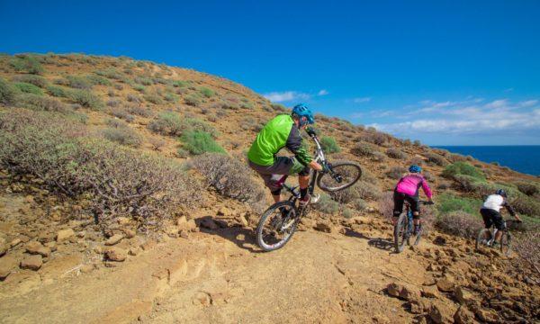 Mountain bike seguro en Tenerife, España