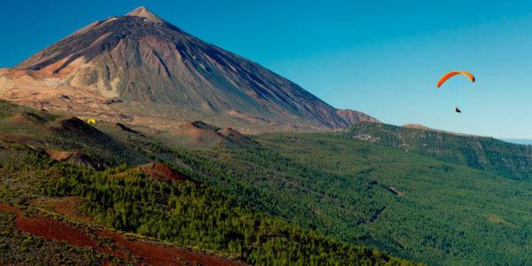 Vuelo Parque Nacional del Teide 2200m, Tenerife, España